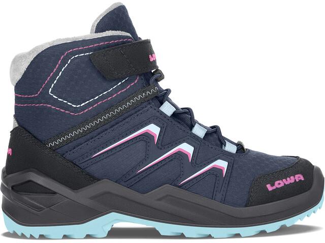 Lowa Maddox Warm GTX Boots Kids navy/berry